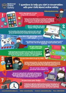 Online Safety Poster 7 Questions
