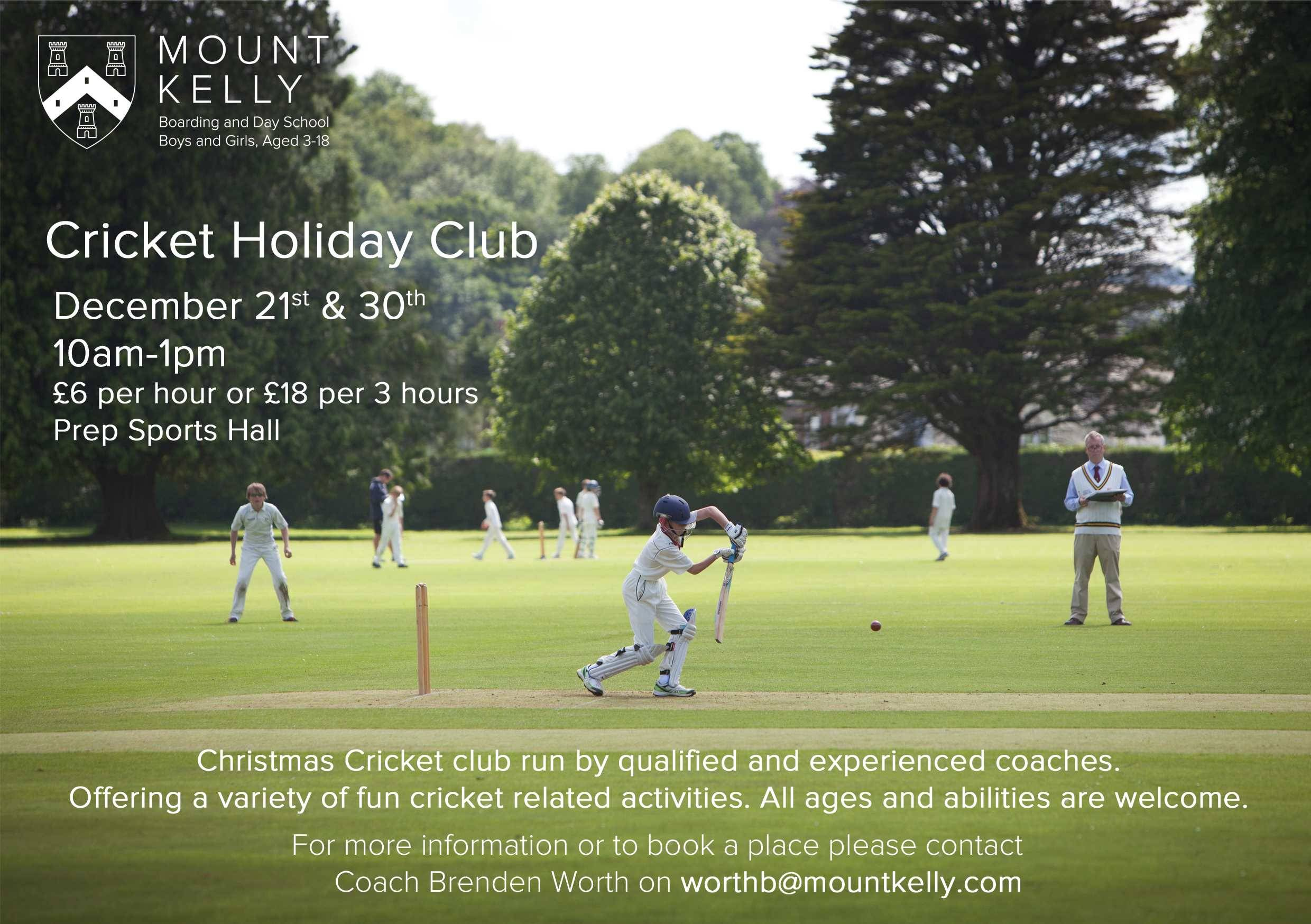 Cricket Holiday Club